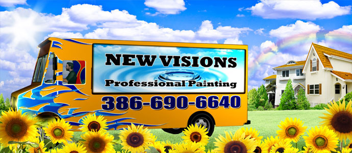 New Visions Professional Painting Company Truck