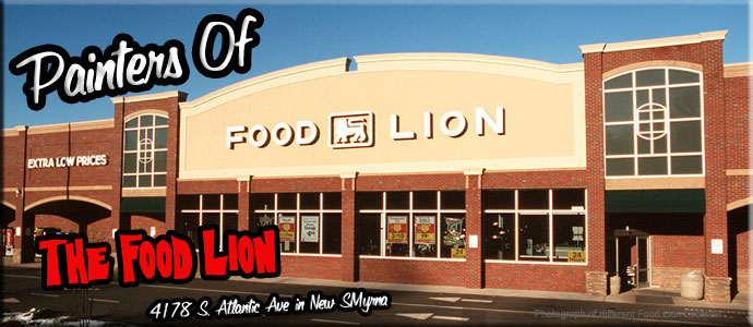 Commercial Painting Of The Food Lion