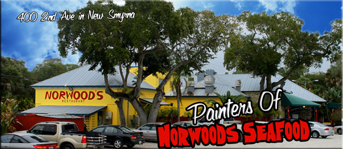 Commercial Painting Of Norwoods Seafood Restaurant
